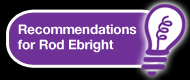 Testimonial recommendations for Rod Ebright